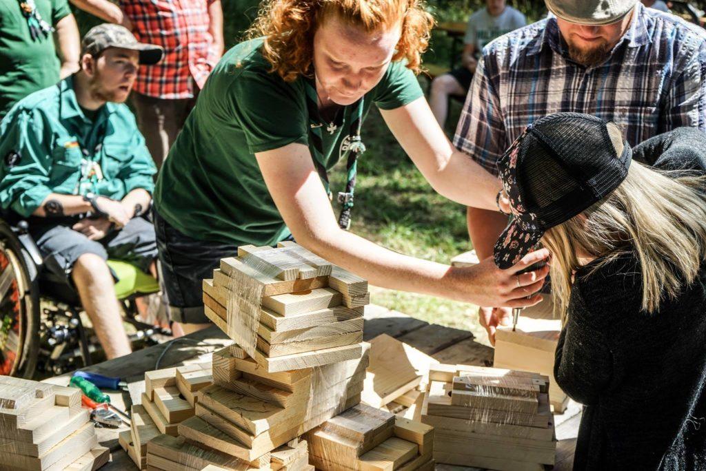 Sommerfest 2018 - Nistkastenbau