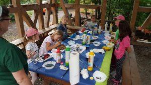 Ferienspaß im Wildgehege - Kreativität wohin man schaut